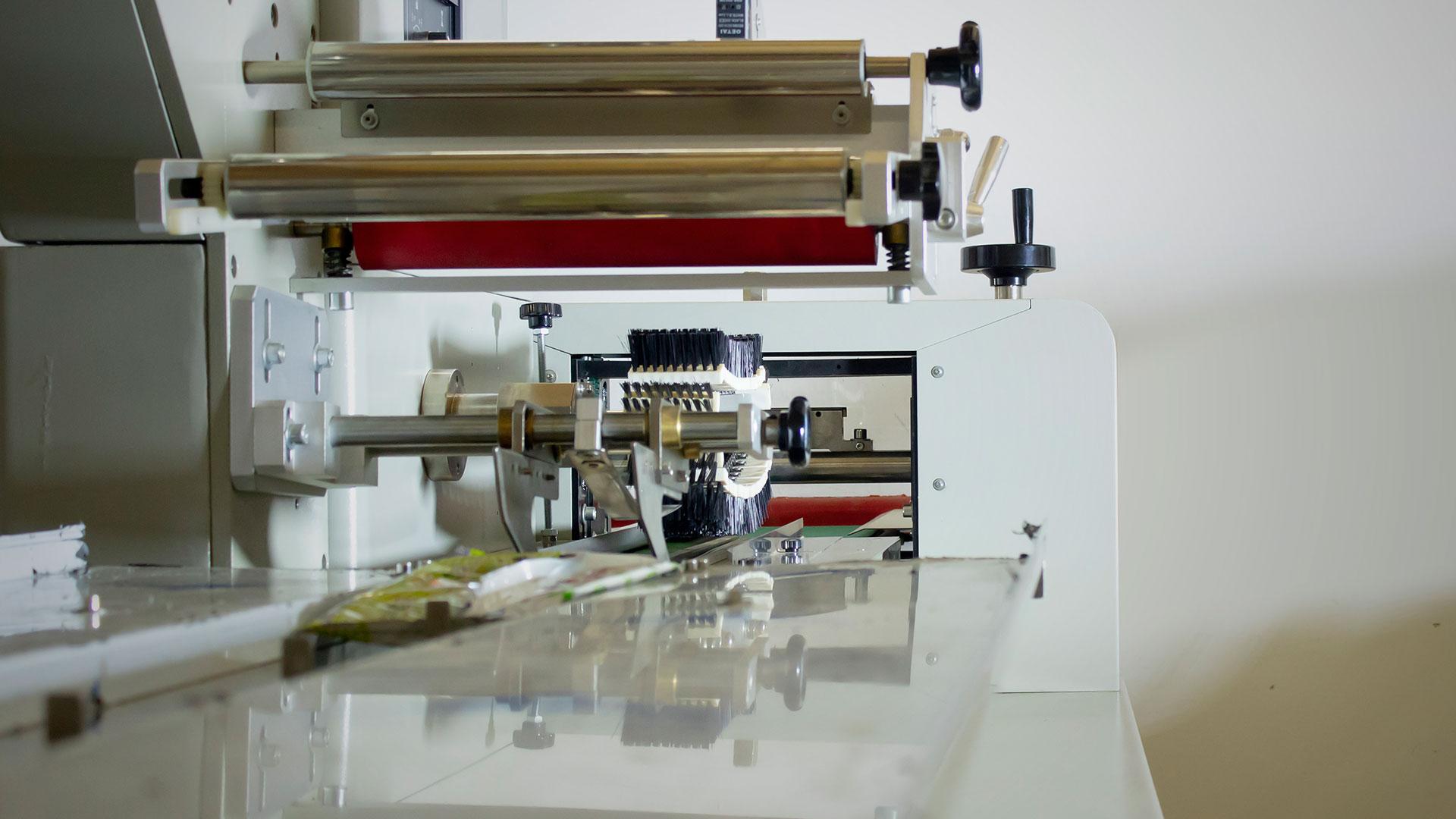 Instalación de una empacadora Flow Pack